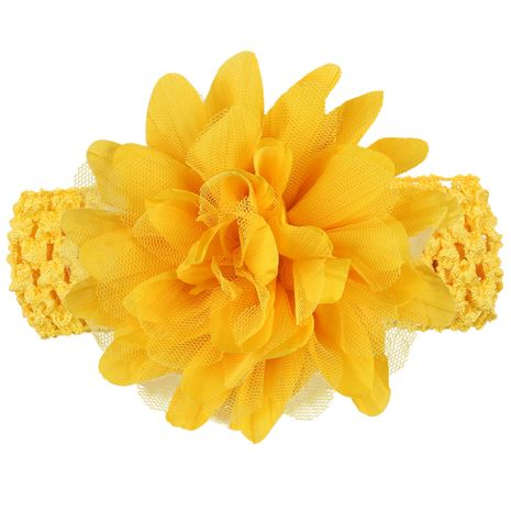 Cloth Fashion Flowers Hair accessories  (yellow)  Fashion Jewelry NHWO0774-yellow's discount tags