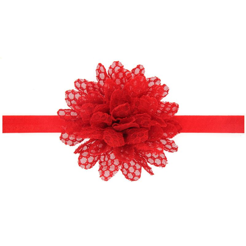 Cloth Fashion Flowers Hair accessories  (red)  Fashion Jewelry NHWO0778-red