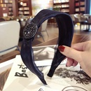 Cloth Korea Bows Hair accessories  black  Fashion Jewelry NHSM0176black