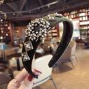 Cloth Vintage Bows Hair accessories  black  Fashion Jewelry NHSM0210black