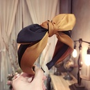 Cloth Simple Bows Hair accessories  yellow  Fashion Jewelry NHSM0232yellow