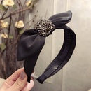 Cloth Korea Bows Hair accessories  gray  Fashion Jewelry NHSM0238gray