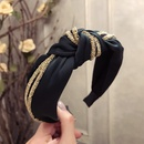 Cloth Simple Bows Hair accessories  yellow  Fashion Jewelry NHSM0239yellow