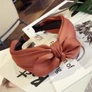 Cloth Korea Bows Hair accessories  black  Fashion Jewelry NHSM0254black