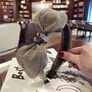 Cloth Korea Bows Hair accessories  Striped black  Fashion Jewelry NHSM0270Stripedblack