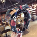 Cloth Korea Bows Hair accessories  Floral green  Fashion Jewelry NHSM0279Floralgreen