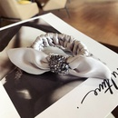 Cloth Simple Bows Hair accessories  black  Fashion Jewelry NHSM0294black
