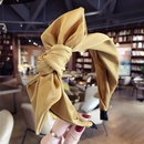 Cloth Korea Bows Hair accessories  yellow  Fashion Jewelry NHSM0296yellow