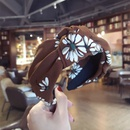 Cloth Vintage Flowers Hair accessories  green  Fashion Jewelry NHSM0310green