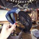 Cloth Korea Bows Hair accessories  Black + purple  Fashion Jewelry NHSM0327Blackpurple