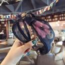 Cloth Korea Bows Hair accessories  Floral black  Fashion Jewelry NHSM0350Floralblack