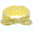 Cloth Fashion Geometric Hair accessories  yellow  Fashion Jewelry NHWO0594yellow