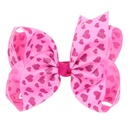 Alloy Fashion Sweetheart Hair accessories  Pink love  Fashion Jewelry NHWO0597Pinklove