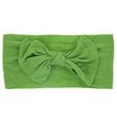 Cloth Fashion Bows Hair accessories  green  Fashion Jewelry NHWO0600green
