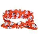 Cloth Fashion Cartoon Hair accessories  Orange ghost  Fashion Jewelry NHWO0601Orangeghost