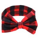 Cloth Fashion Geometric Hair accessories  Red and white  Fashion Jewelry NHWO0621Redandwhite