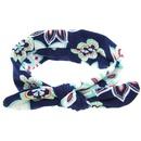 Cloth Fashion Flowers Hair accessories  Navy  Fashion Jewelry NHWO0624Navy