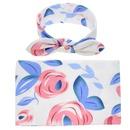 Cloth Fashion Flowers Hair accessories  Blue flower  Fashion Jewelry NHWO0644Blueflower
