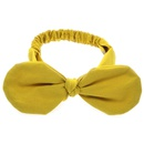 Cloth Korea Animal Hair accessories  yellow  Fashion Jewelry NHWO0678yellow