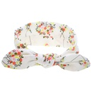 Tissu Fleurs  la mode Accessoires pour cheveux Fleur blanche Bijoux  la mode NHWO0680Fleurblanche