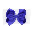 Cloth Fashion Bows Hair accessories  blue  Fashion Jewelry NHWO0684blue