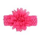 Cloth Fashion Flowers Hair accessories  red  Fashion Jewelry NHWO0686red