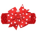 Alloy Fashion Flowers Hair accessories  Red and white  Fashion Jewelry NHWO0711Redandwhite