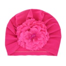 Cloth Fashion Flowers Hair accessories  Pink flower  Fashion Jewelry NHWO0744Pinkflower