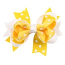 Cloth Fashion Bows Hair accessories  yellow  Fashion Jewelry NHWO0757yellow