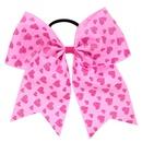 Cloth Fashion Sweetheart Hair accessories  Pink love  Fashion Jewelry NHWO0762Pinklove
