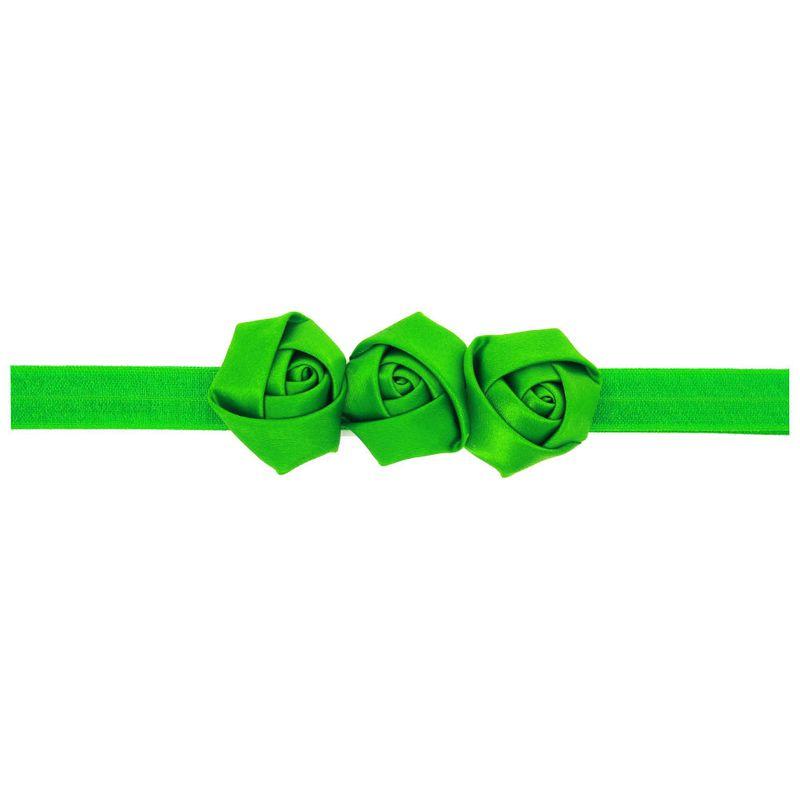 Cloth Fashion Flowers Hair accessories  green  Fashion Jewelry NHWO0790green