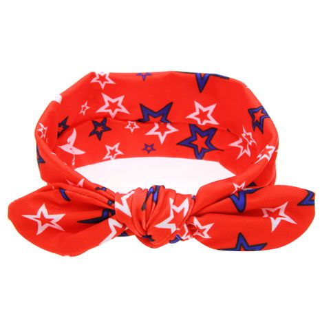 Cloth Fashion Geometric Hair accessories  (Red and blue stars)  Fashion Jewelry NHWO0797-Red-and-blue-stars's discount tags