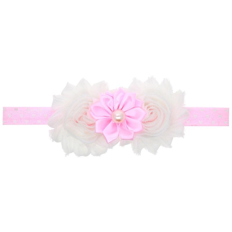 Cloth Fashion Flowers Hair accessories  (Pink)  Fashion Jewelry NHWO0799-Pink