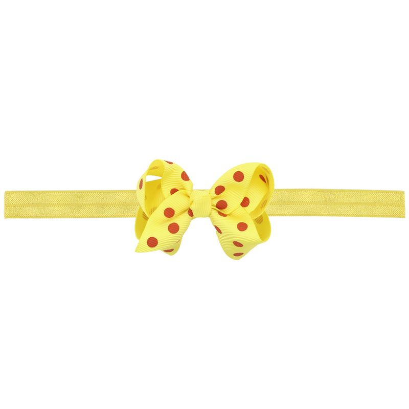 Cloth Fashion Bows Hair accessories  yellow  Fashion Jewelry NHWO0831yellow