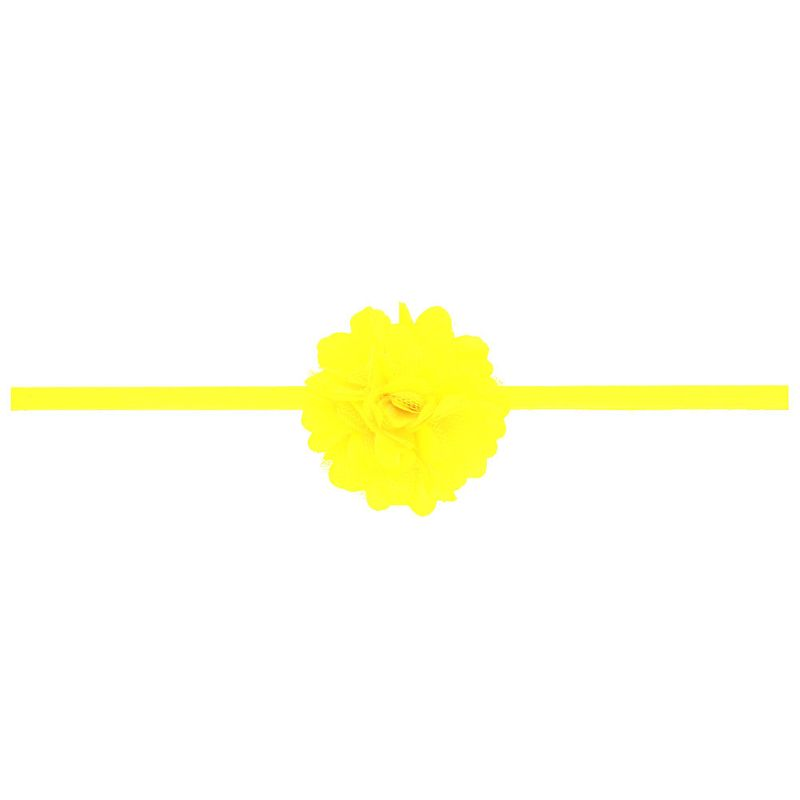 Cloth Fashion Flowers Hair accessories  yellow  Fashion Jewelry NHWO0833yellow