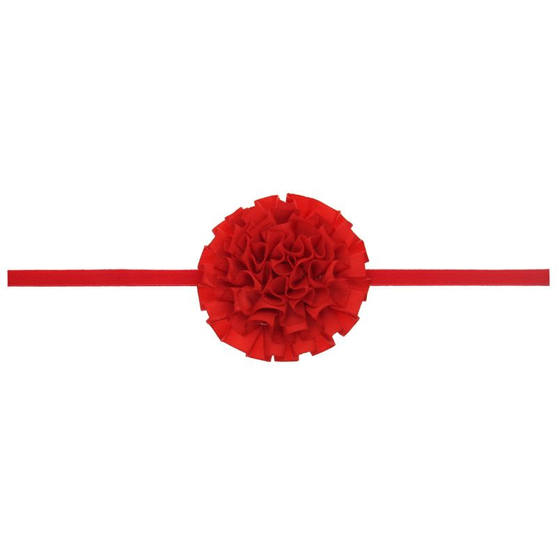 Cloth Fashion Flowers Hair accessories  (red)  Fashion Jewelry NHWO0837-red