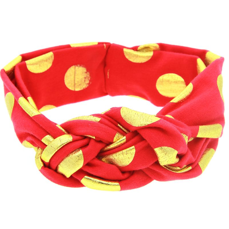 Cloth Fashion Geometric Hair accessories  (red)  Fashion Jewelry NHWO0864-red