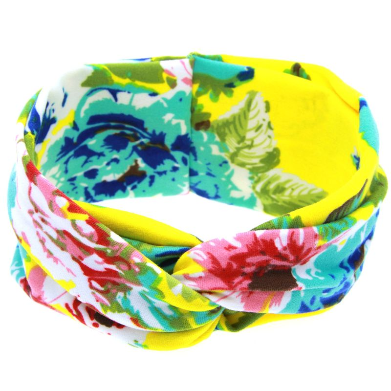 Cloth Fashion Flowers Hair accessories  (yellow)  Fashion Jewelry NHWO0865-yellow