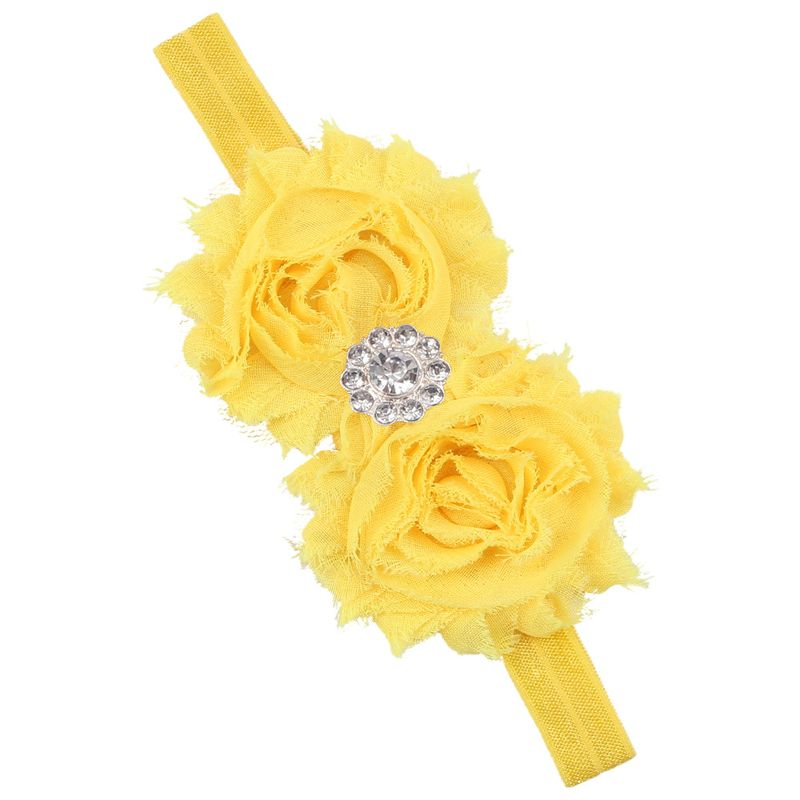 Cloth Fashion Sweetheart Hair accessories  yellow  Fashion Jewelry NHWO0874yellow