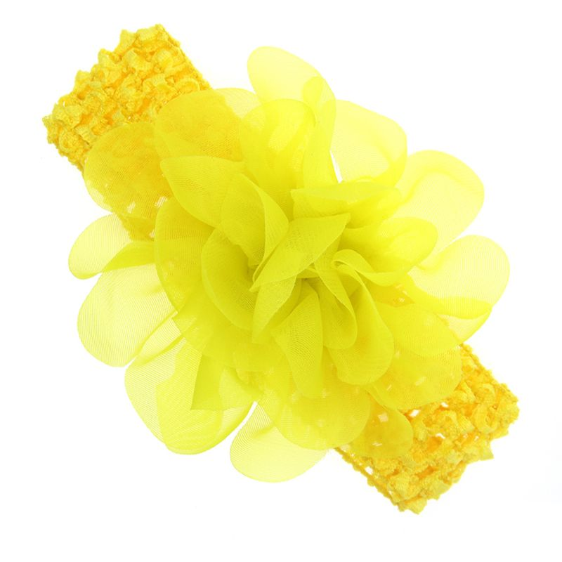 Cloth Fashion Bows Hair accessories  (yellow)  Fashion Jewelry NHWO0877-yellow