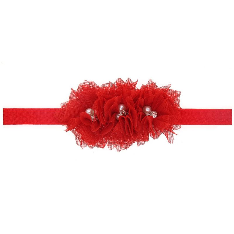 Cloth Fashion Flowers Hair accessories  red  Fashion Jewelry NHWO0884red