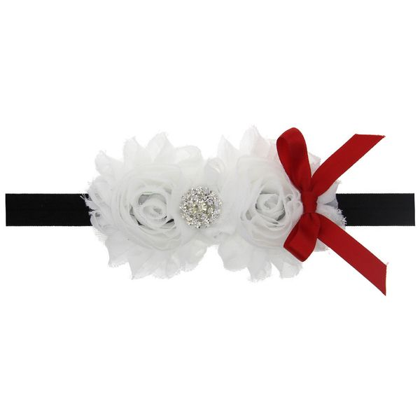 Cloth Fashion Flowers Hair accessories  (white)  Fashion Jewelry NHWO0892-white