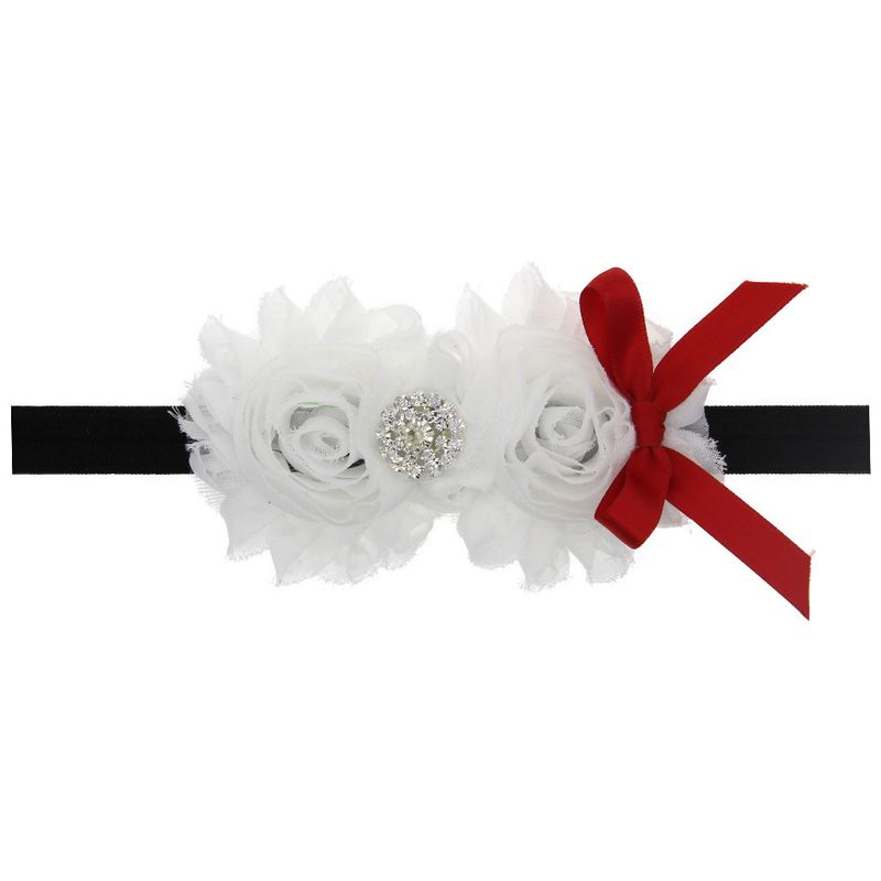 Cloth Fashion Flowers Hair accessories  white  Fashion Jewelry NHWO0892white