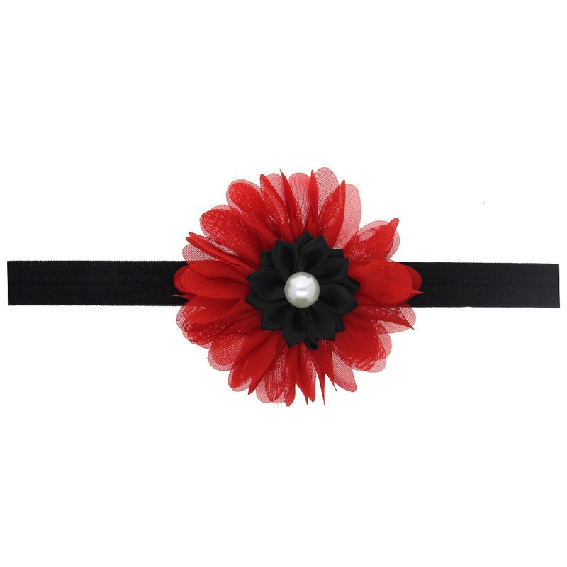 Cloth Fashion Flowers Hair accessories  red  Fashion Jewelry NHWO0894red