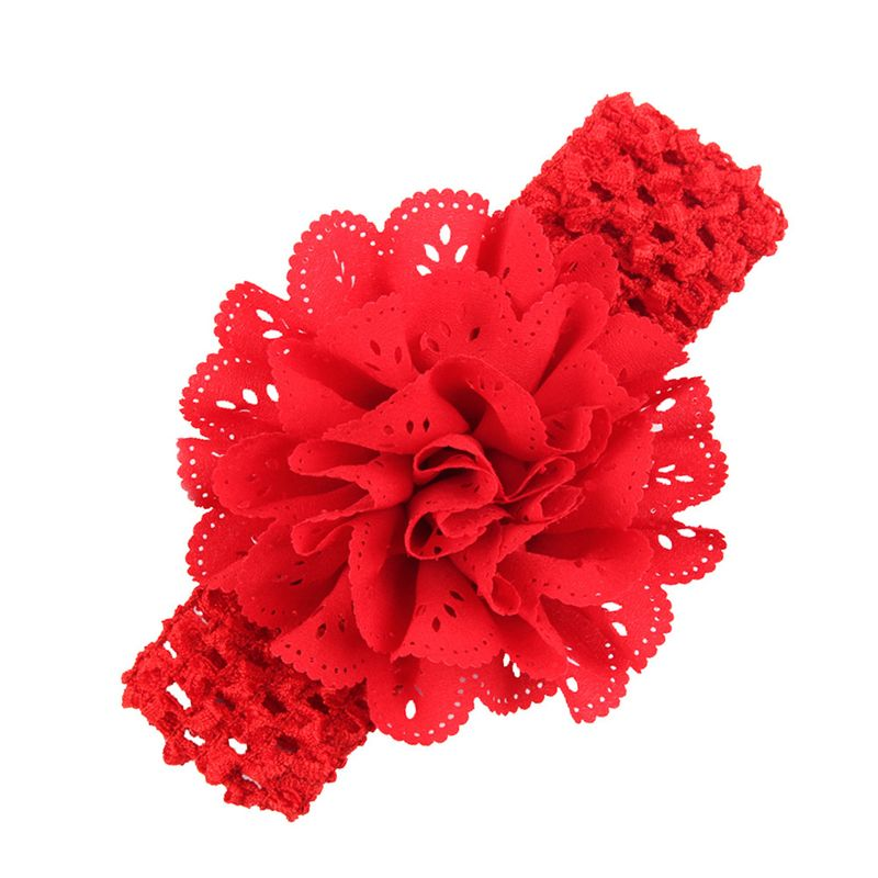 Cloth Fashion Flowers Hair accessories  (red)  Fashion Jewelry NHWO0898-red