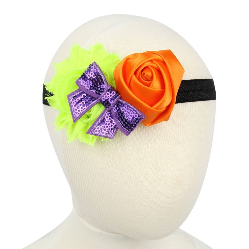 Cloth Fashion Flowers Hair accessories  Orange  Fashion Jewelry NHWO0913Orange