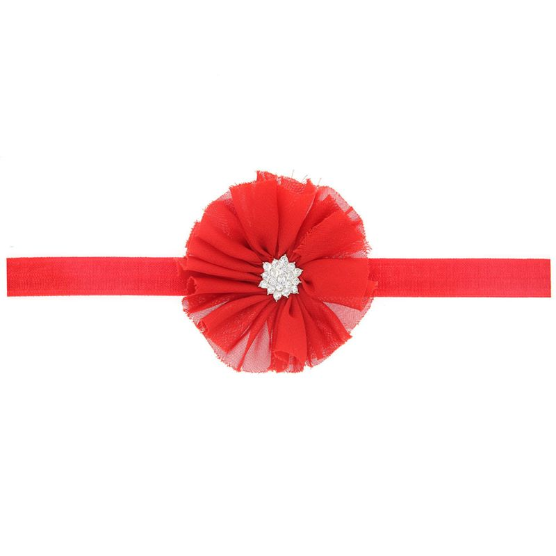 Cloth Fashion Flowers Hair accessories  red  Fashion Jewelry NHWO0920red