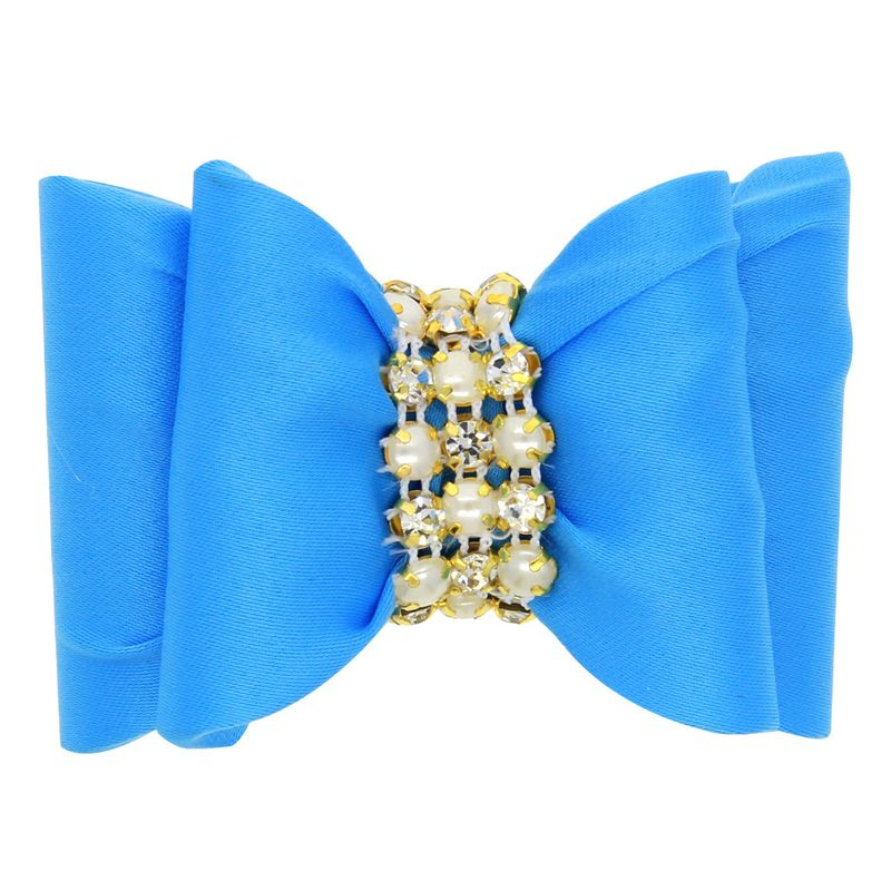 Cloth Fashion Bows Hair accessories  (blue)  Fashion Jewelry NHWO0922-blue