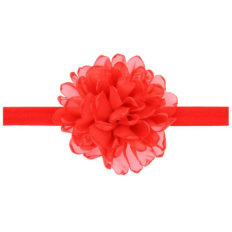 Cloth Fashion Flowers Hair accessories  red  Fashion Jewelry NHWO0943red