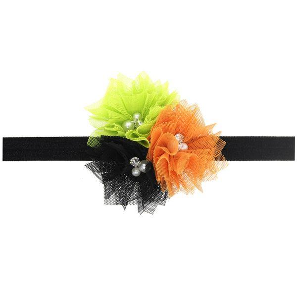 Cloth Fashion Flowers Hair accessories  (Orange)  Fashion Jewelry NHWO0948-Orange